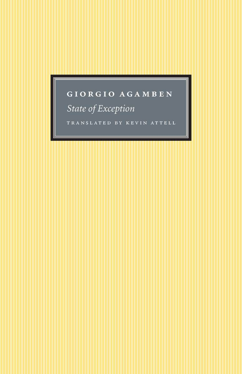 Cover of State of Exception