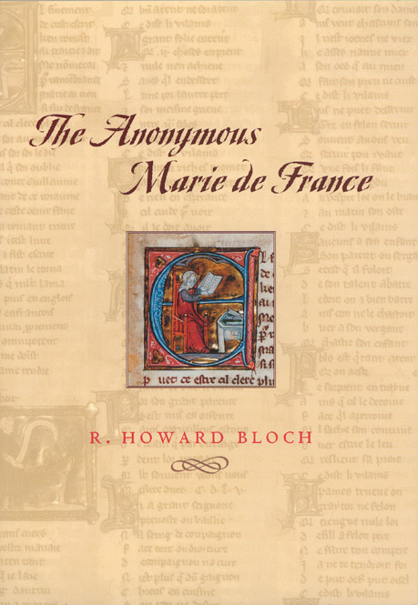 Cover of The Anonymous Marie de France