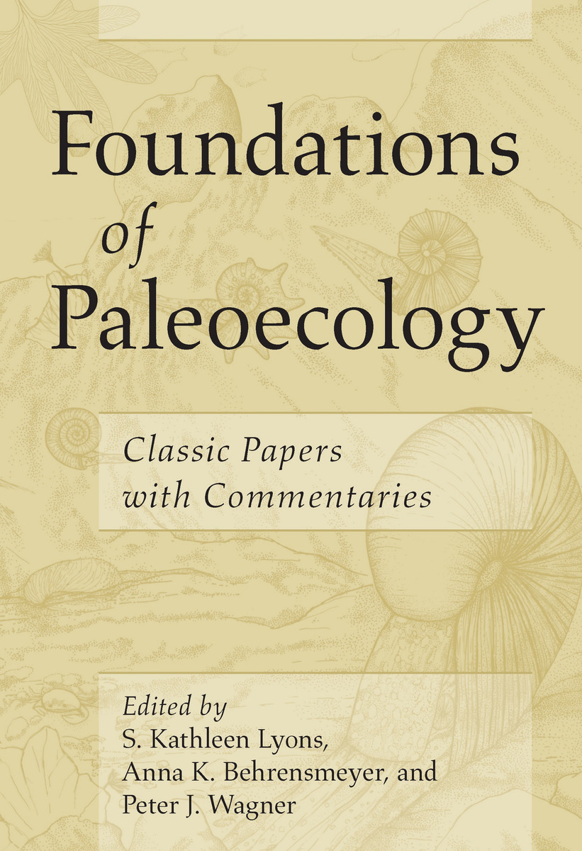 Cover of Foundations of Paleoecology