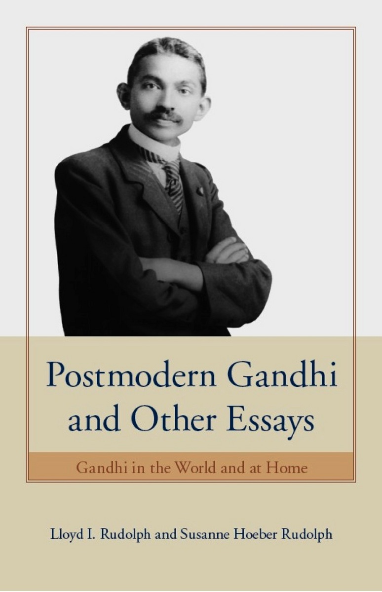 frontcover jpg cover of postmodern gandhi and other essays