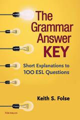 Grammar Answer Key