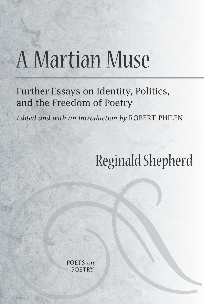 A Martian Muse Further Essays On Identity Politics And The  Cover Of Book