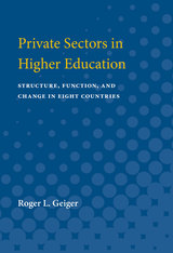 Private Sectors in Higher Education