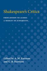 Shakespeare's Critics