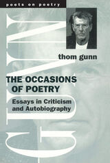 Occasions of Poetry