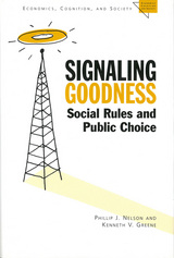 Signaling Goodness
