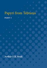 Papyri from Tebtunis