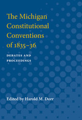 Michigan Constitutional Conventions of 1835-36