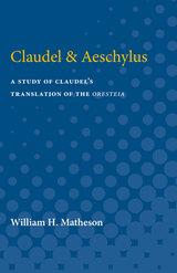 Claudel & Aeschylus