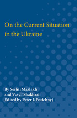 On the Current Situation in the Ukraine