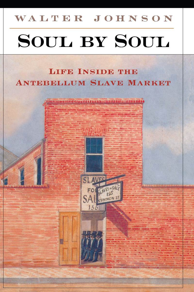 soul by soul walter johnson essays The book soul by soul: life inside the antebellum slave market by walter johnson takes you through a tour of how slavery worked in the united states before the civil war.