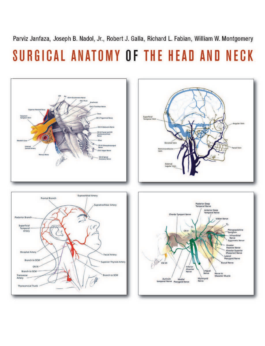 Surgical Anatomy Of The Head And Neck 9780674058033 Parviz