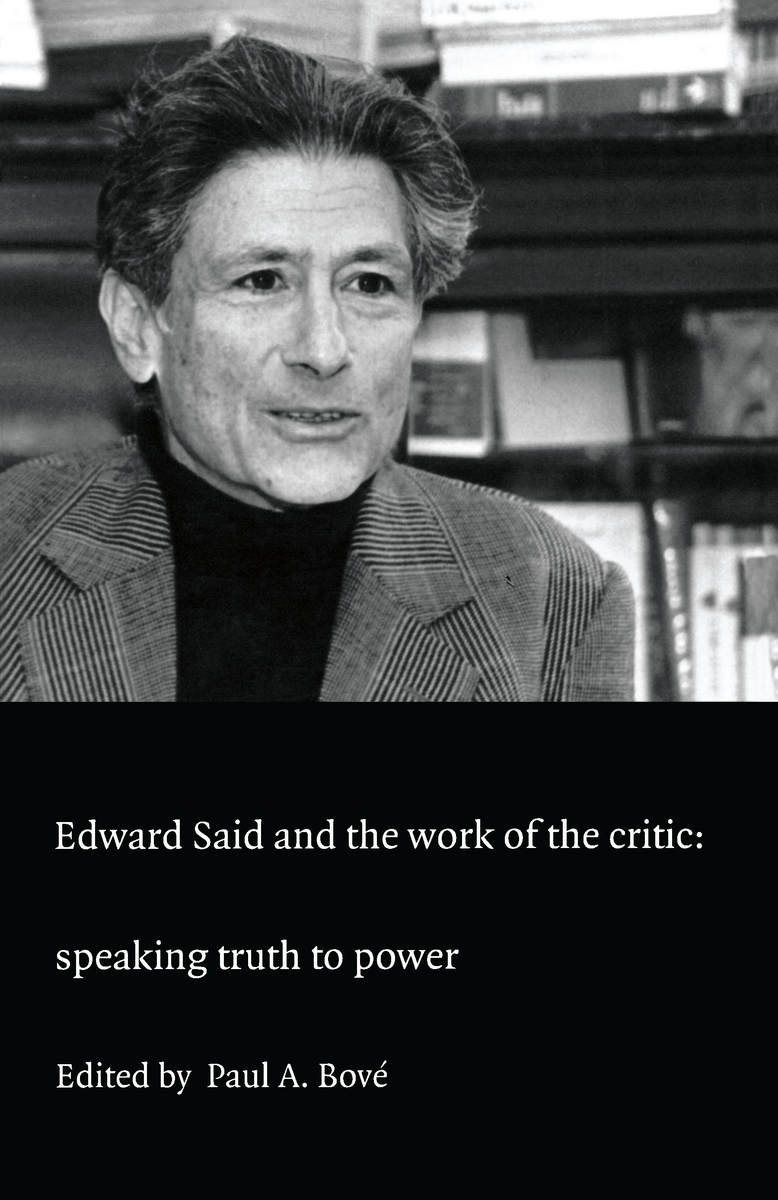 edward said essays online Orientalism transfigures the study of middle east edward said defines, orientalism as the ethnocentric way europe approaches the asian regi.