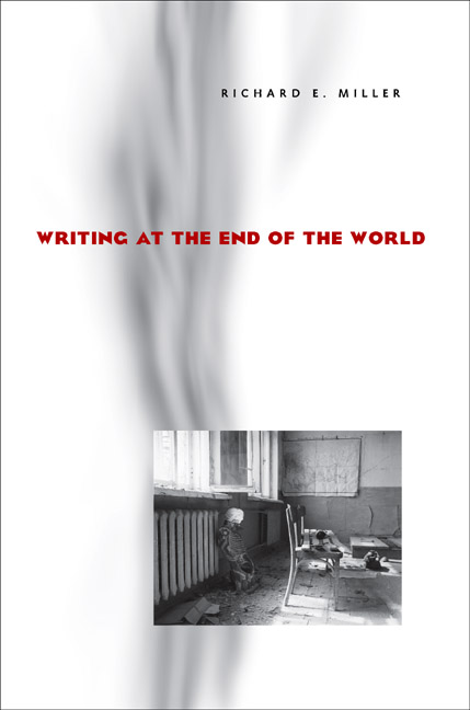 """the creative writing the end of the world Creative writing courses are a  story go from there all the way through to the end without people dying  world it is a """"nightmare."""