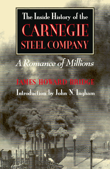 the history of the carnegie steel company