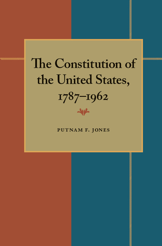 the constitution of the usa essay Free essay: the creation of the united states constitution in 1787 americans were finally through the revolution and officially independent from england the.