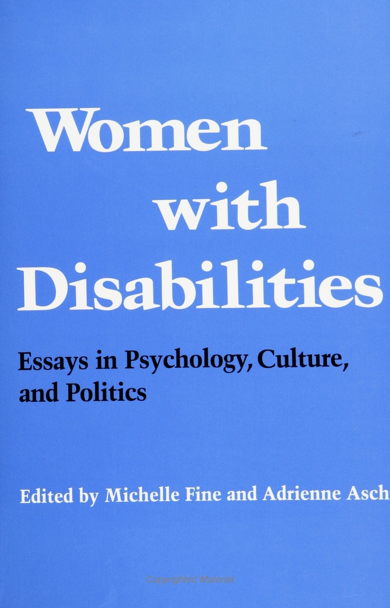 disabilities essay Read this social issues essay and over 88,000 other research documents children with disabilities there is always more than meets the.