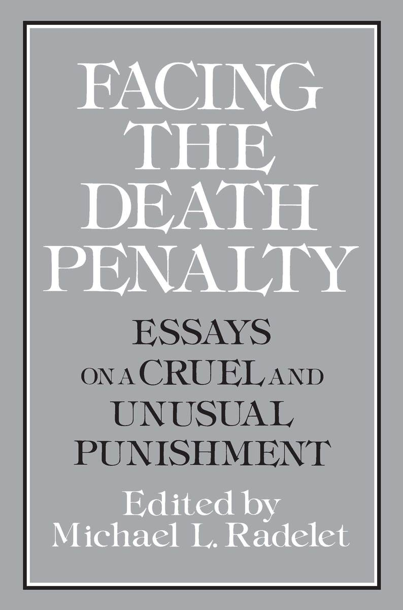 The Death Penalty Essay
