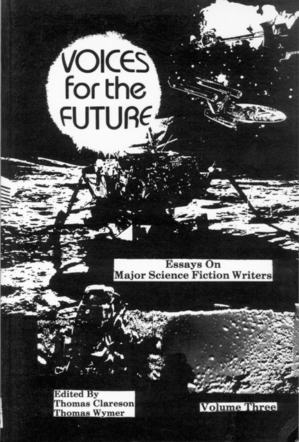 voices for the future essays on major science fiction writers  cover of book