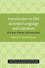 Introduction to Old Javanese Language and Literature