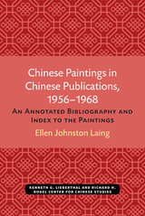 Chinese Paintings in Chinese Publications, 1956-1968