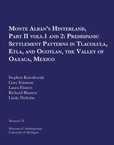 Monte AlbAn's Hinterland, Part II