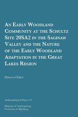 Early Woodland Community at the Schultz Site 20SA2 in the