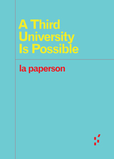 Third University Is Possible