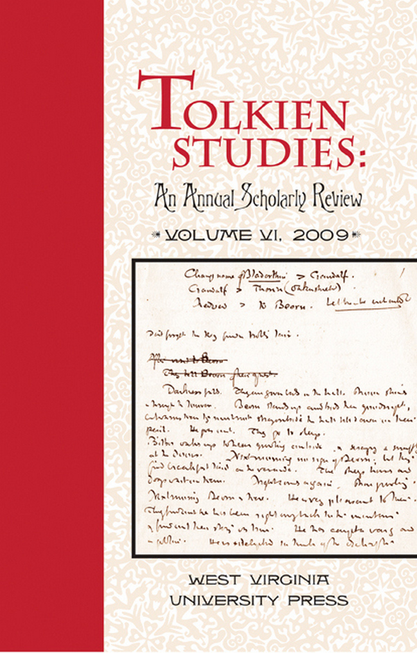 Tolkien Studies: An Annual Scholarly Review (Volume II, 2005)